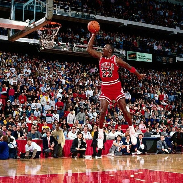 It was 26 years ago, on February 6th, when Michael Jordan put on a show at the old Chicago Stadium, winning the 1988 NBA All-Star Slam Dunk Competition before going on to claim the first of his three All-Star MVP awards. #TBT