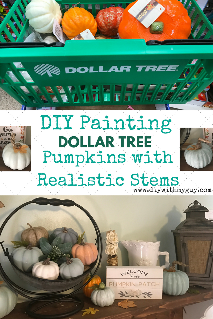 Cheap Fall Decor DIY Farmhouse Pumpkins- Dollar Tree Hack #falldecorideas
