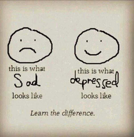 depression is a disease not an act