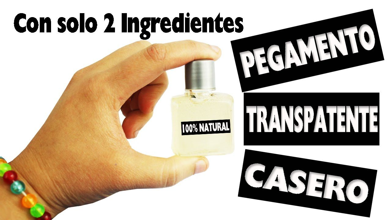 Diy Pegamento Transparente 100 Casero Con Solo 2 Ingredientes Manua Manualidades Pegamento Casero Pegamento