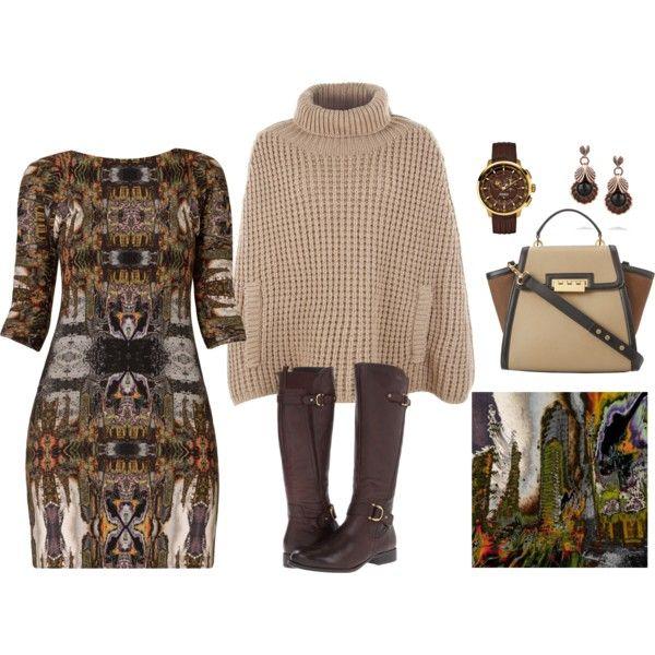 """Untitled 1 Tunic Dress"" by artonfashion on Polyvore"