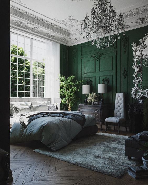 51 Green Bedrooms That Will Give You An Idea To Design 2020 Interery Spalni Interer I Dizajn Spalen