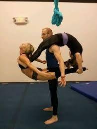resultado de imagem para trio acro tricks  partner yoga