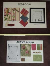 Great Room Design Boards