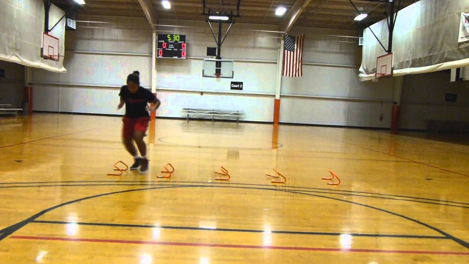 Lateral Quickness For Basketball Part 2 Basketball Basketball Training Coaching Volleyball