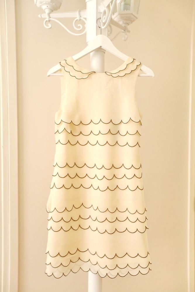 Ted Baker scalloped dress