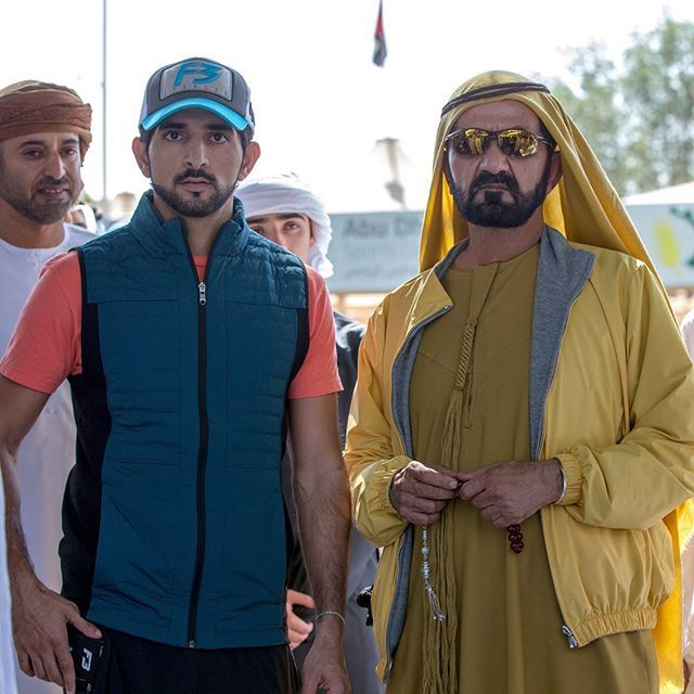Resultado de imagen para Hamdan Rashid y padre