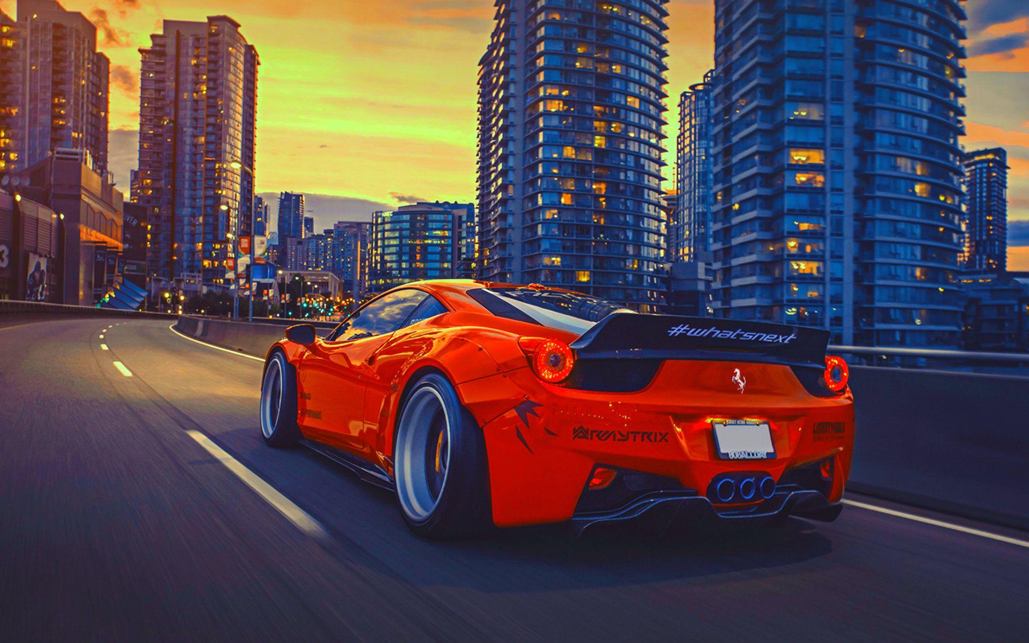 Wallpaper Hd Ferrari