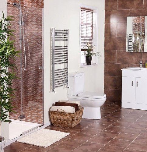 Zamora™ Brown Wall & Floor Tile(30x30cm) | 91 Bathroom Reno ...