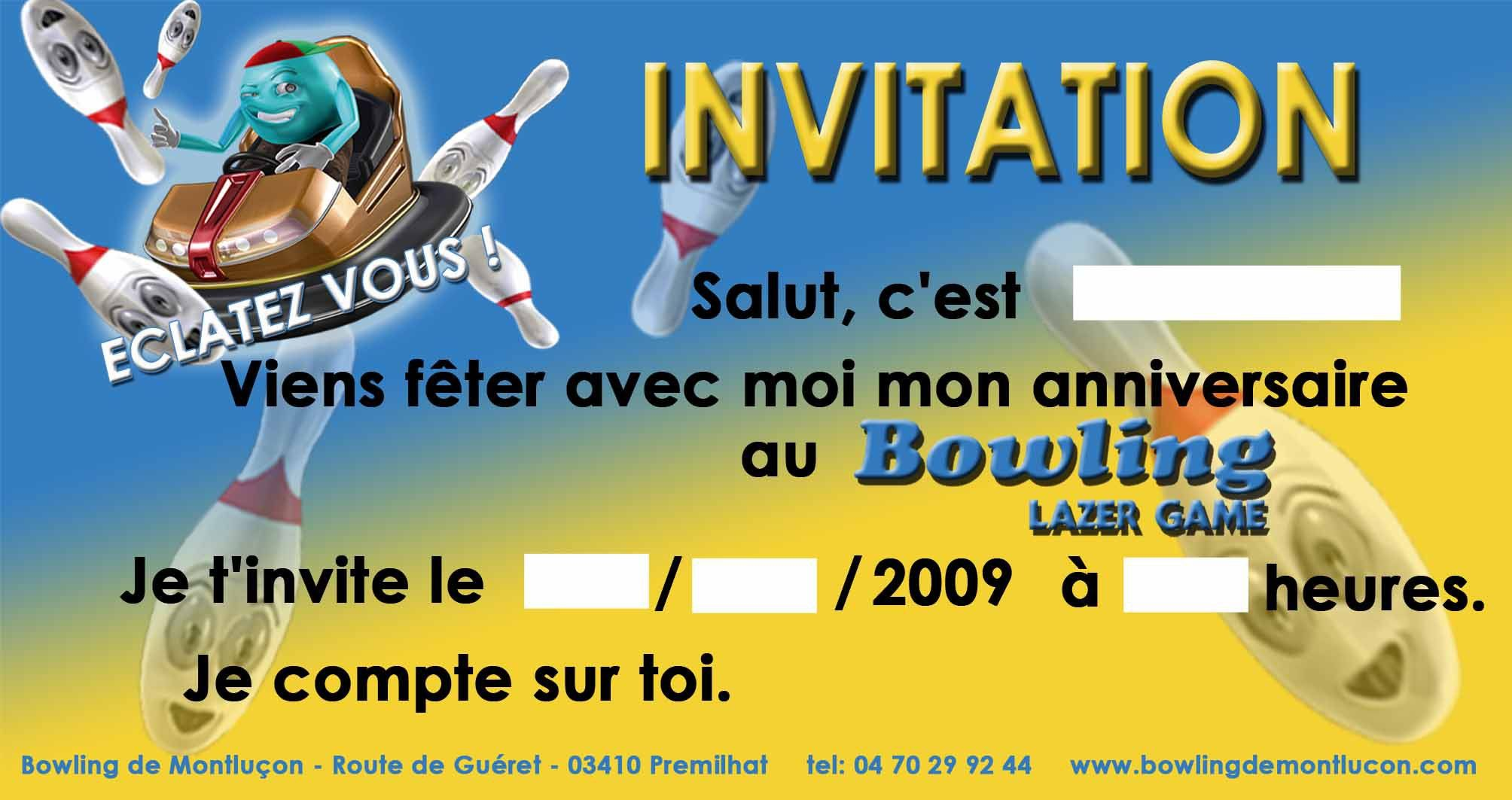 Carte invitation anniversaire carte d invitation anniversaire gratuite carte anniversaire - Imprimer une carte d anniversaire gratuite ...