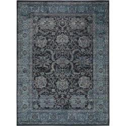 Photo of benuta Teppich Cedar Dunkelblau 160×230 cm – Vintage Teppich im Used-Look benuta