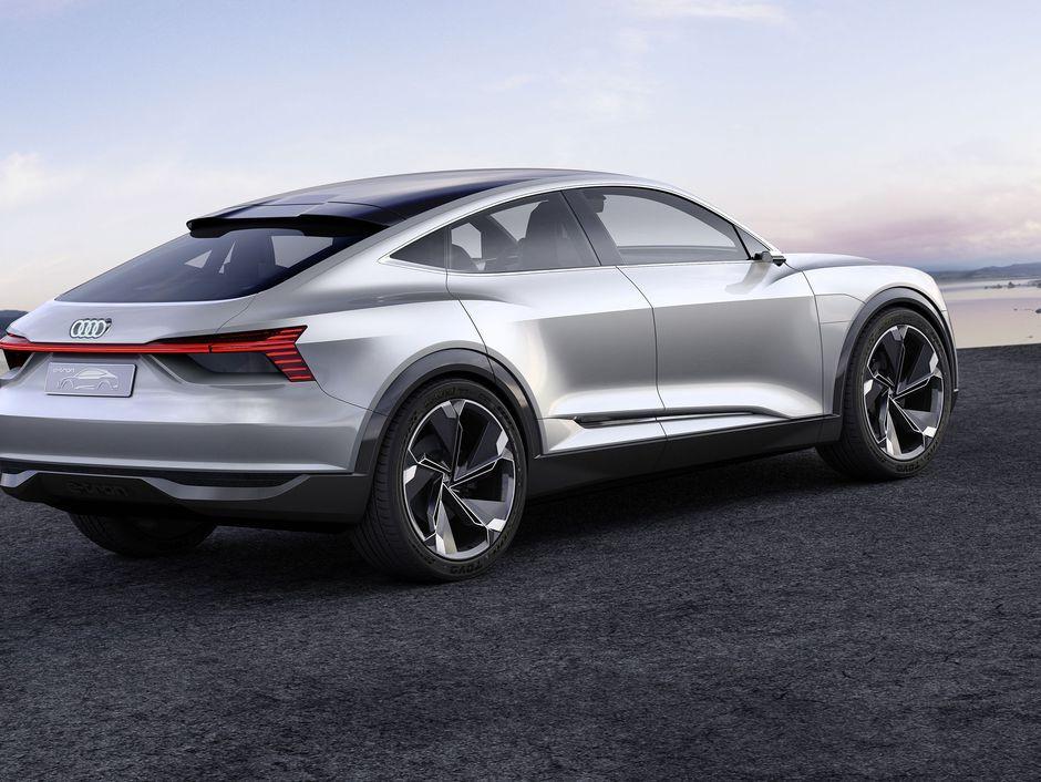 Audi E Tron Sportback Concept Is Coming Soon To A Road Near You Page 9 Roadshow Audi E Tron E Tron Concept Cars