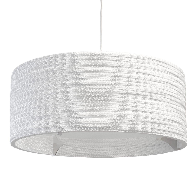 Drum scraplight white pendant light pendant lighting glass