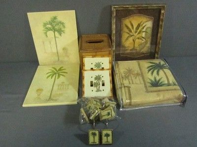 For the home on pinterest 128 pins for Palm tree bathroom ideas