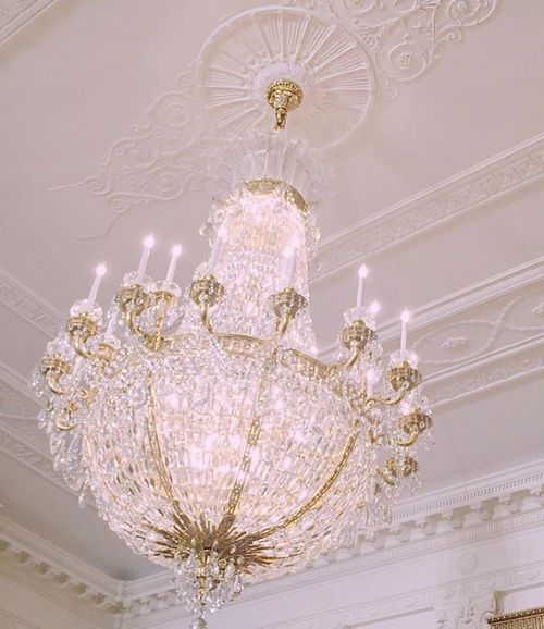 Demartino gabi and gabriella image my home pinterest girly ive always wanted a chandelier in my dream home aloadofball Image collections