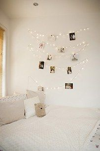 12++ Fairy lights for girls bedroom ideas