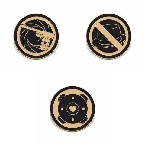N64 Spy Pin set