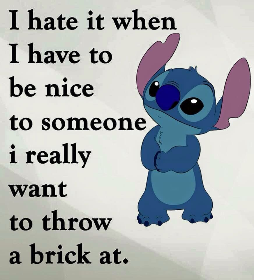 Oh Yea Fun Quotes Funny Funny Quotes Lilo And Stitch Quotes