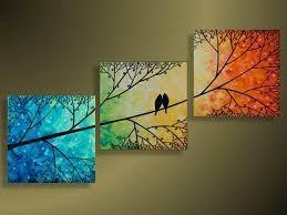 pinturas modernas cuadros decorativos adornos cuadros paisajes dibujos hermosos decorar paredes decoracion interior arte pintura oleos