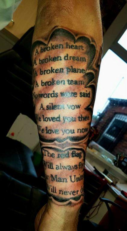 Man united sleeve, man united tattoo | Tattoo ideas ...