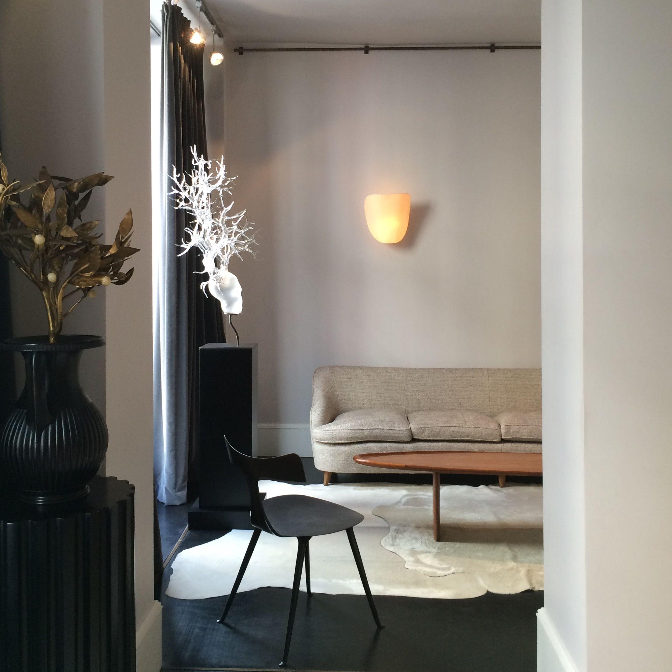 """Sofa by Gio Ponti Coffee table """"Surf"""" by Robsjohn Gibbings"""