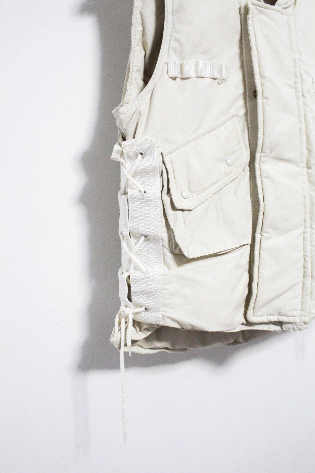 Helmut Lang Fw 1999 Vintage Archive Goosedown Military Vest Jacket Ebay Womens Fashion Vintage Helmut Lang Military Vest