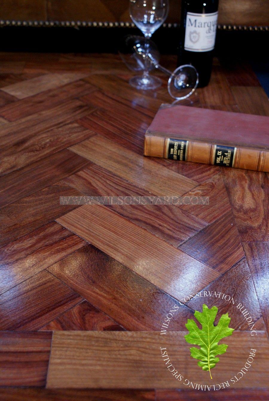 A Beautiful East African Hardwood Parquet Woodblock
