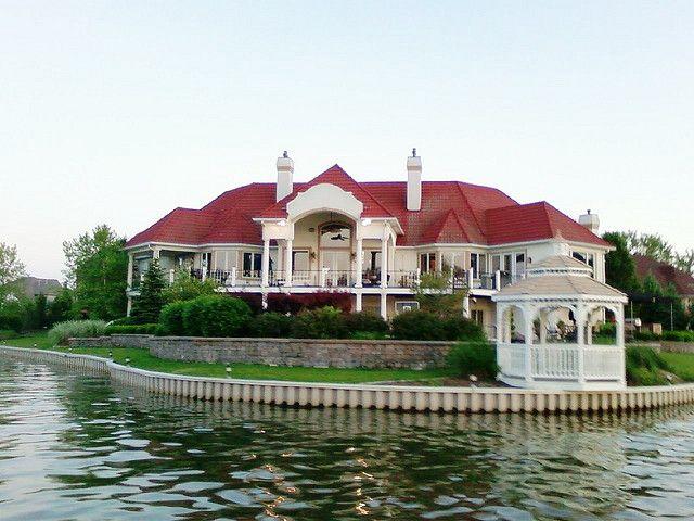 House On Geist Reservoir Or Geist Lake Lake House House Victorian Homes