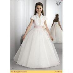 vestidos de primera comunion de princesa