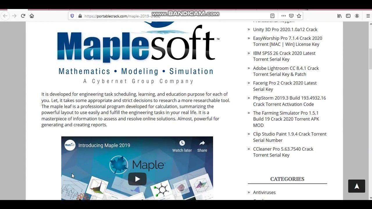How To Install And Download Maple 2019 Phone Cards Installation Mathematics
