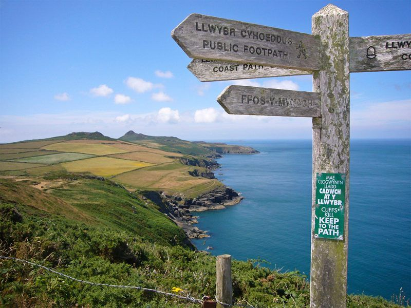 The World's Most Exotic And Incredible Trails Pembrokeshire Coast, Wales