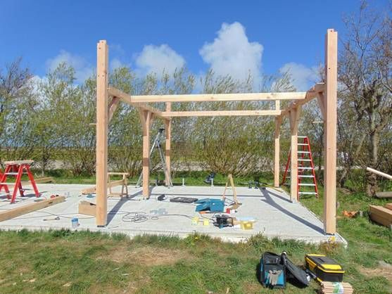 Bouwpakket Projecten met Douglas constructies, projecten met Eiken ...