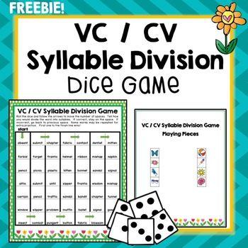 Pin On Og Vcv syllable division worksheets