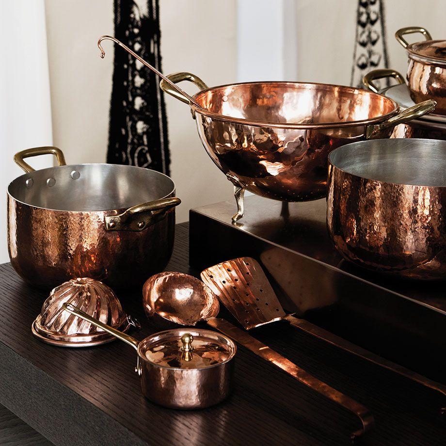Klassisches Kochgeschirr aus Kupfer | indoors | Pinterest ...