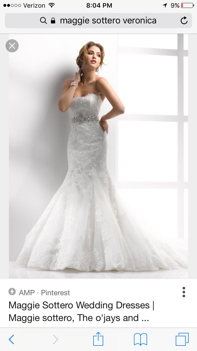 Sottero & Midgley Veronica Wedding Dress Used, Size 14