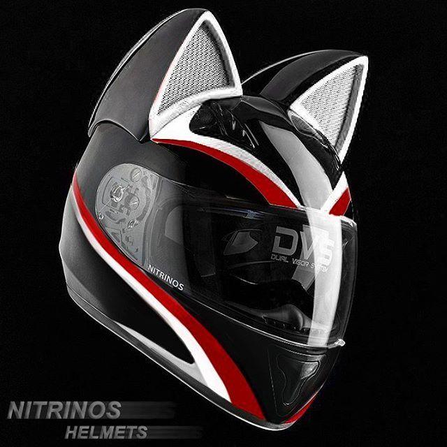 Cat Ear Motorcycle Helmets Motorcycle Helmets Helmet Anime