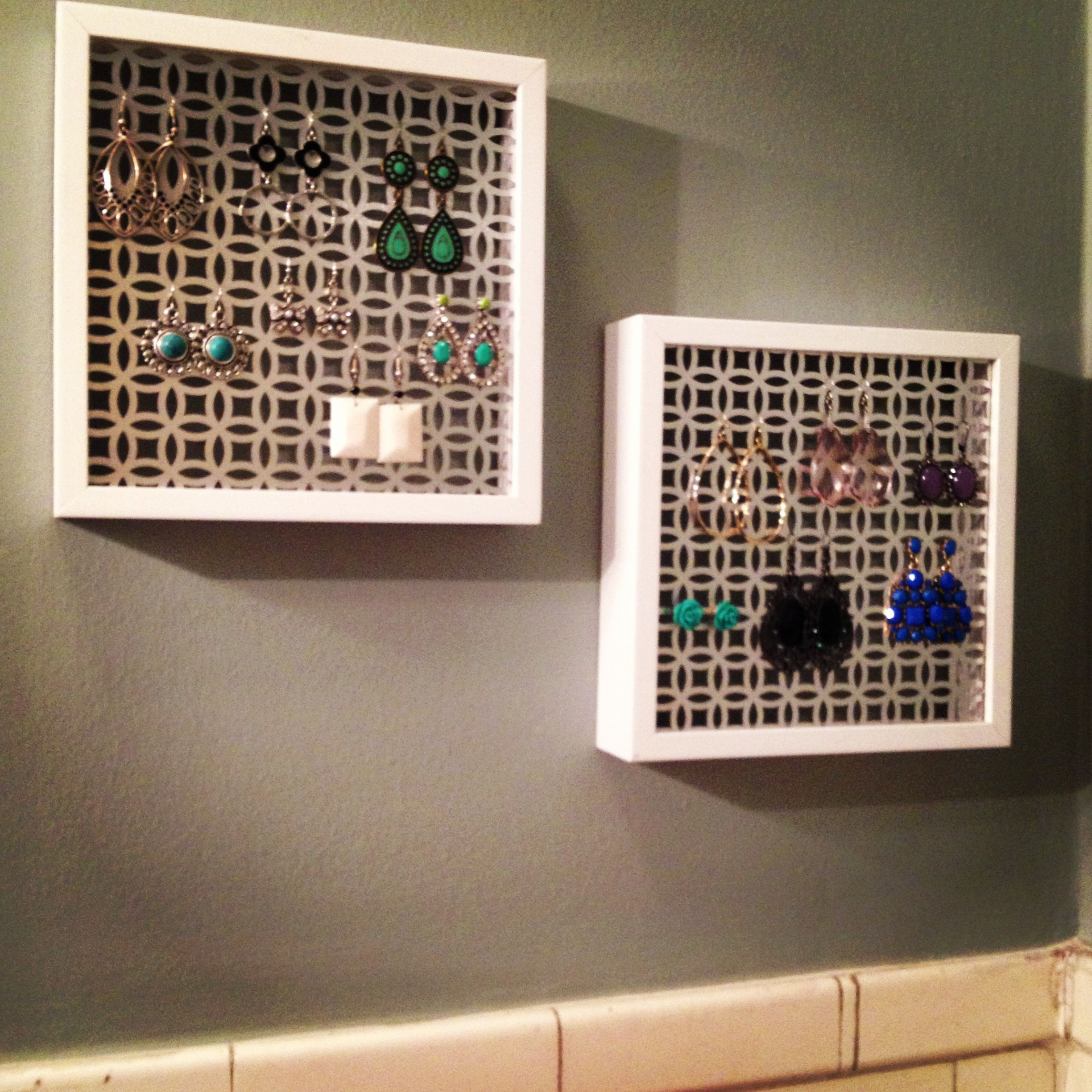 Decorative Return Air Vent Cover Diy Cabinet Grate Made From A Radiator Cover That Was Spray