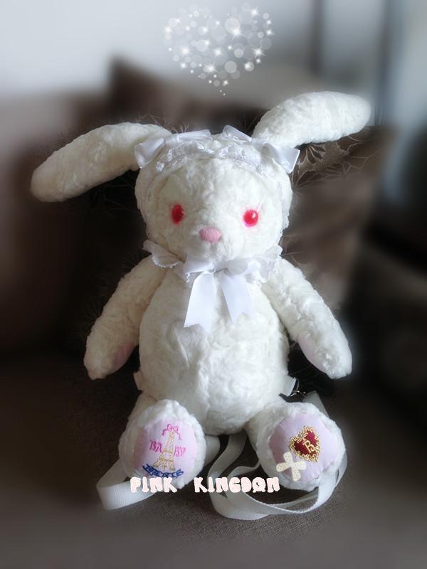 日本 baby 兔熊包 双肩背包 lolita包 小兔子背包 萌娘cos必备-淘宝网