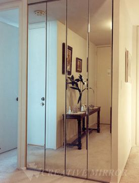Elegant Mirrored Bifold Closet Doors Are Great Inventions For Those Who Want .
