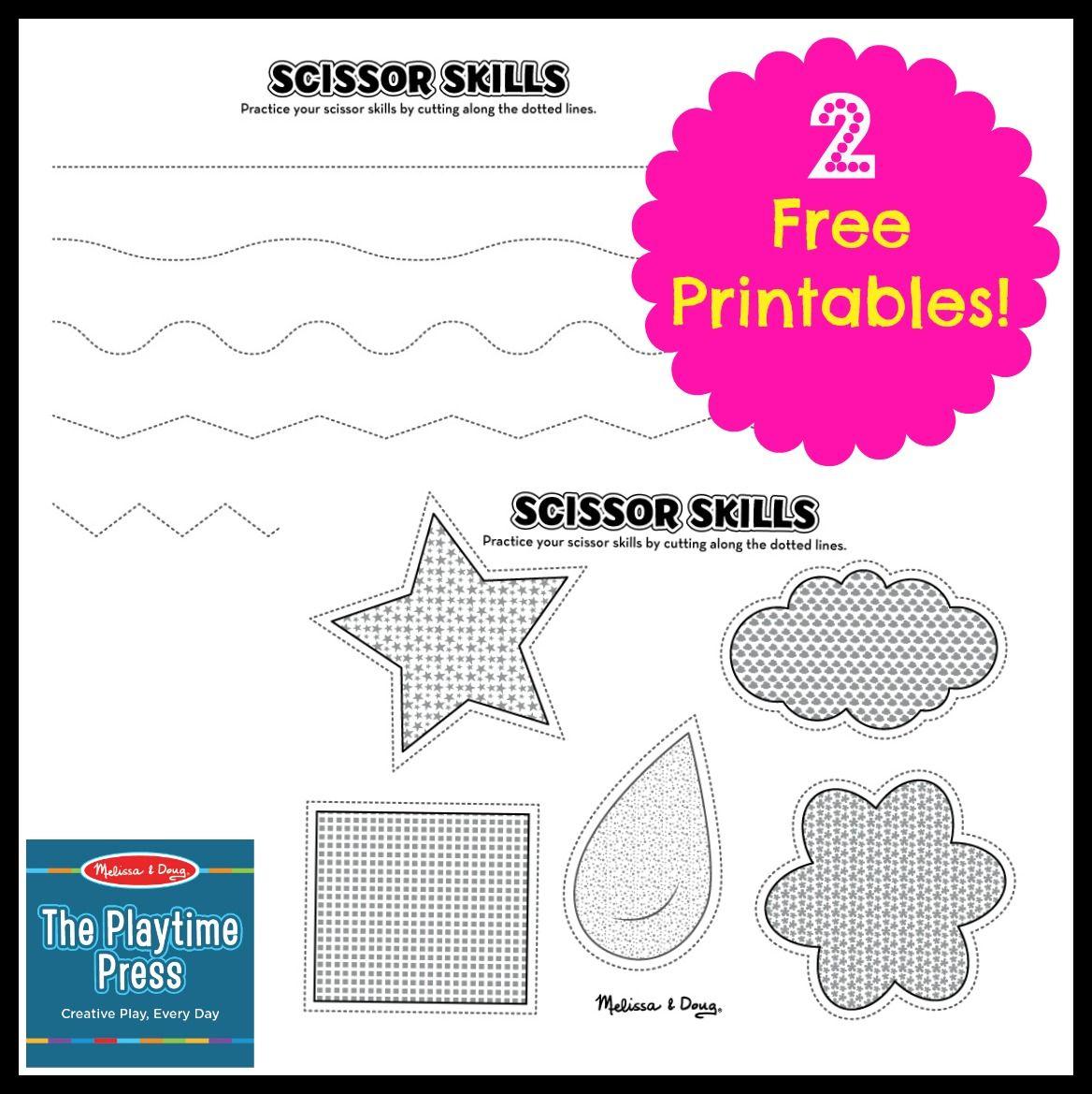 worksheet Scissor Skills Worksheets 2 scissor skills printables for kids ot pre writingscissor free worksheets kids