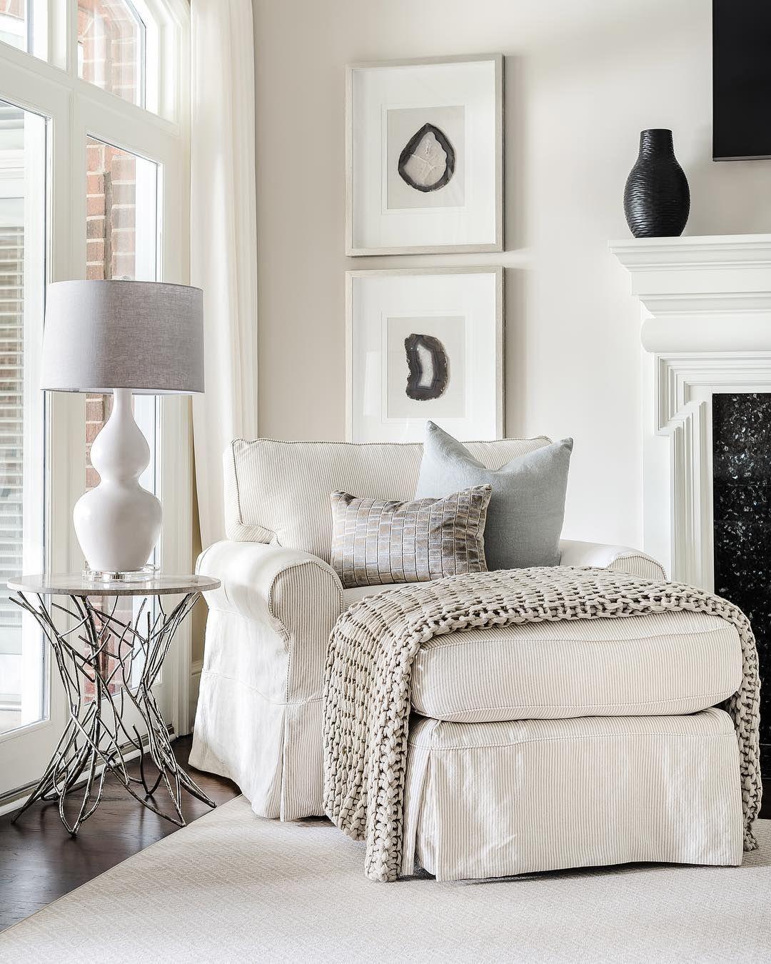 Beautiful Bedroom Sitting Areas: FINN THROW - 4 Colors In 2020