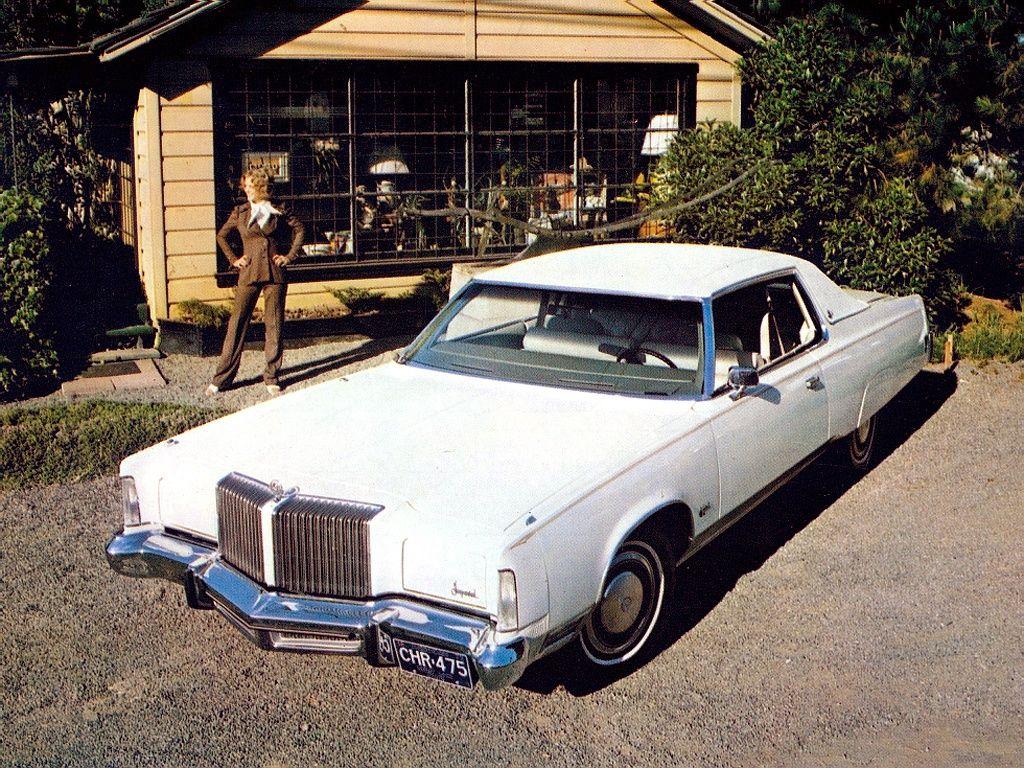 1975 Imperial LeBaron Hardtop Coupe Maintenance