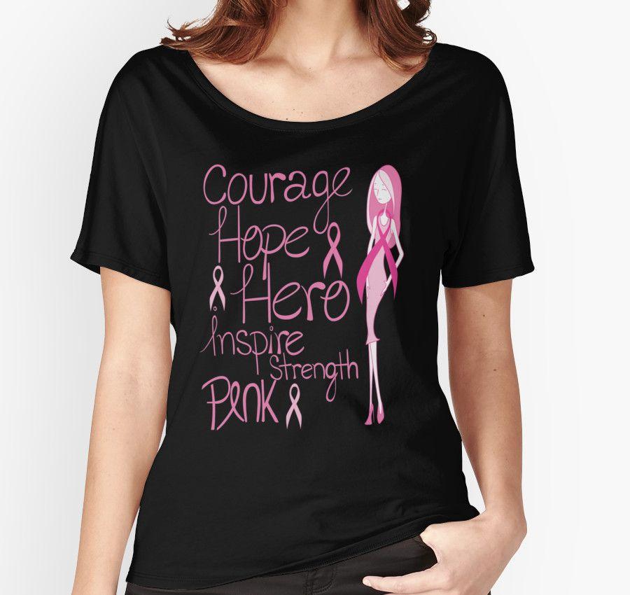 Breast Cancer Awareness Pink October Health Courage Hope Hero Inspire Strength…