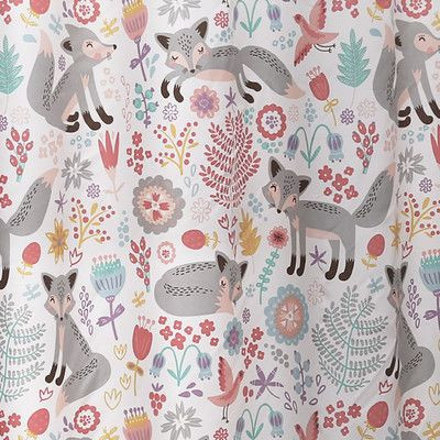 Pin By 3 Birds Caravan Co On For The Kids Lush Decor Kids Shower Curtain Grey Curtains