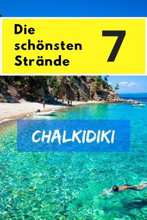 Playas de Chalkidiki – TOP 8 playas más hermosas – 2020 (con fotos)