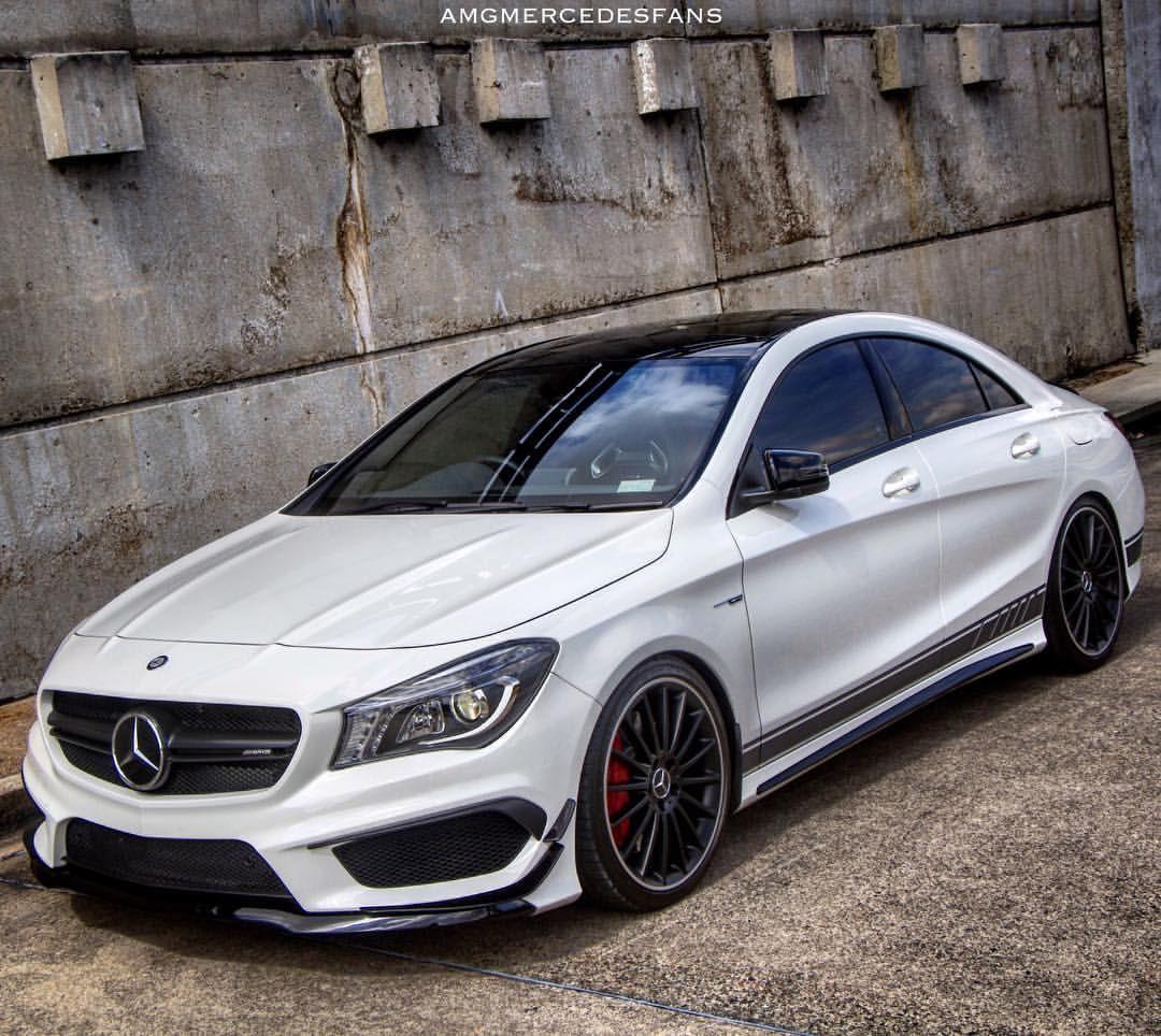 Mercedes Benz Cla: ️CLA45 AMG ️ Owner : @cla45.amg #CLA45