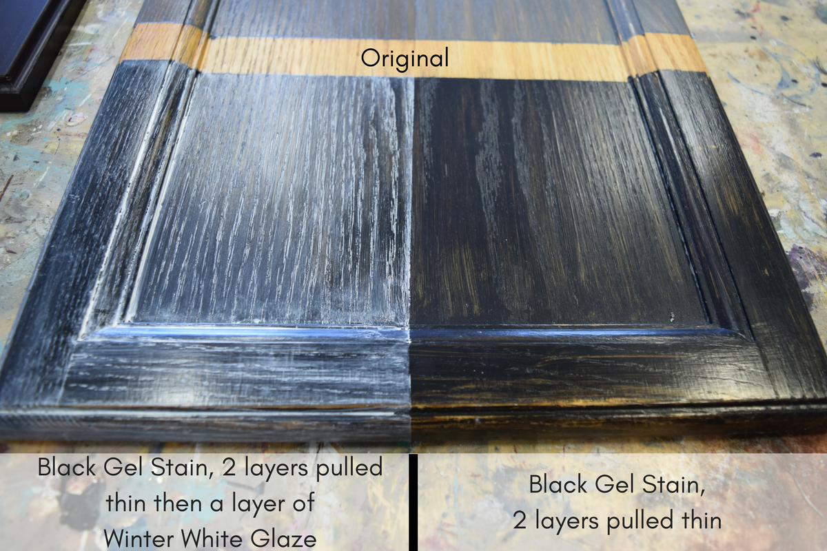 Gel Stains By General Finishes Tips And Tricks Interiors To Inspire Gel Stain Gel Staining Cabinets Java Gel Stains
