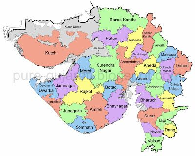New district map of gujarat 15th aug 2013 pure gujarati new district map of gujarat 15th aug 2013 pure gujarati gumiabroncs Choice Image