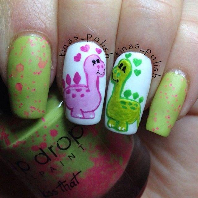 VALENTINE by tinas_p   uñas   Pinterest   Diseños de uñas, Esmalte ...