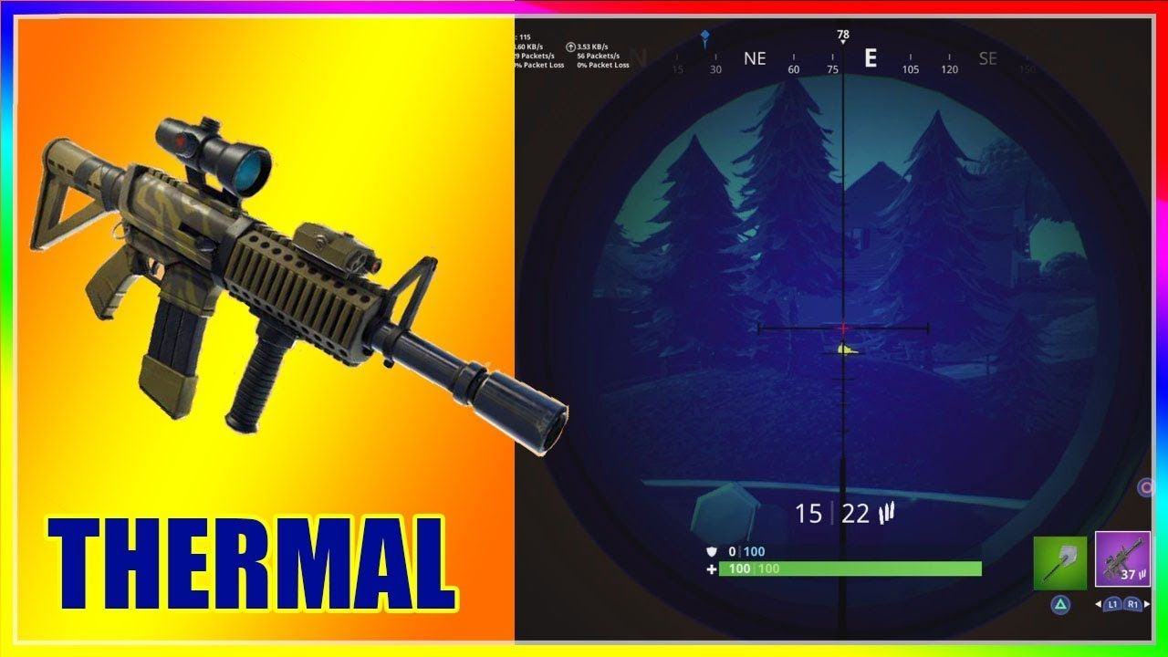 THERMAL Scoped ASSAULT RIFLE in Fortnite Battle Royale